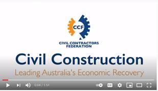 Civil Construction – Leading Australia's Economic Recovery