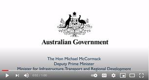 Welcome Message from the Hon Michael McCormack